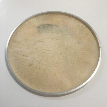 Ivsom Skin Heads on aluminum hoop, 12-22″
